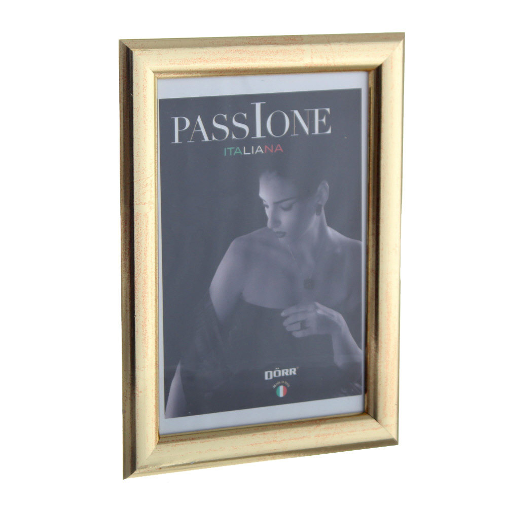 Dorr Guidi Gold Wooden 7x5 Photo Frame