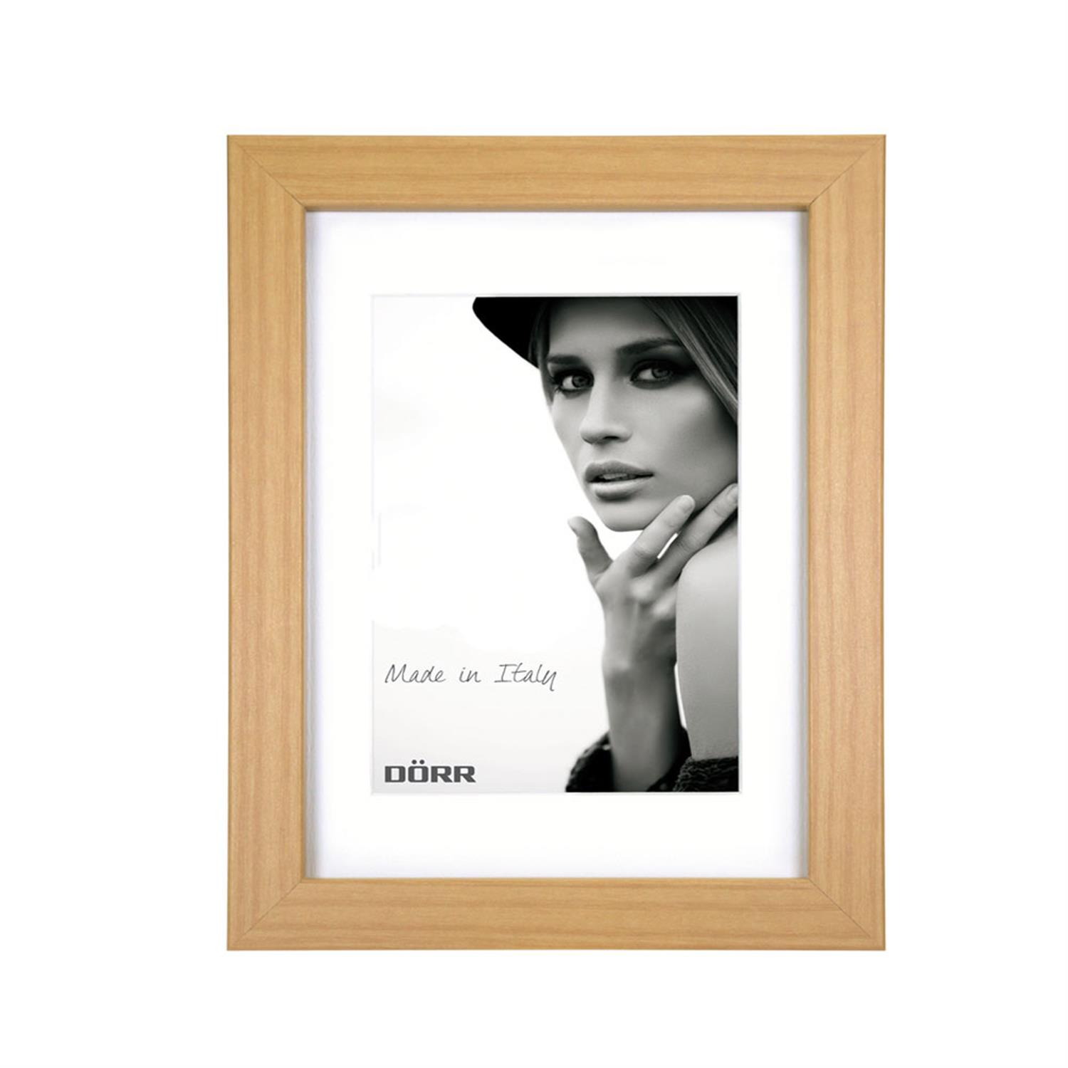 Dorr Bloc Natural 12x8 inches Wood Photo Frame with an 8x6 inch inser