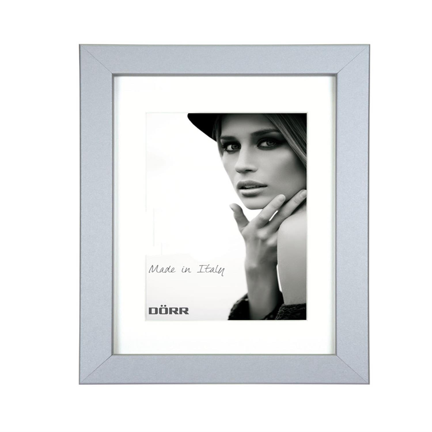 Dorr Bloc Silver 20x16 inch Wood Photo Frame with 16x12 inch insert