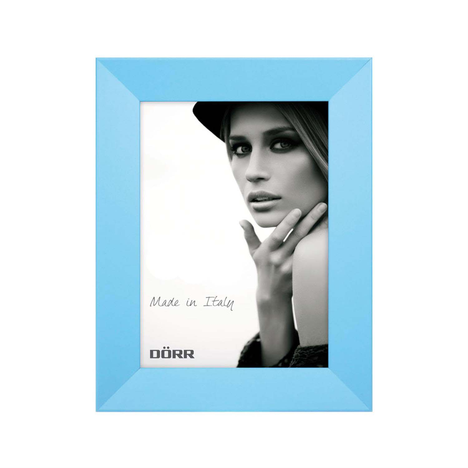 Dorr Trend Blue 6x4 inches Wood Photo Frame