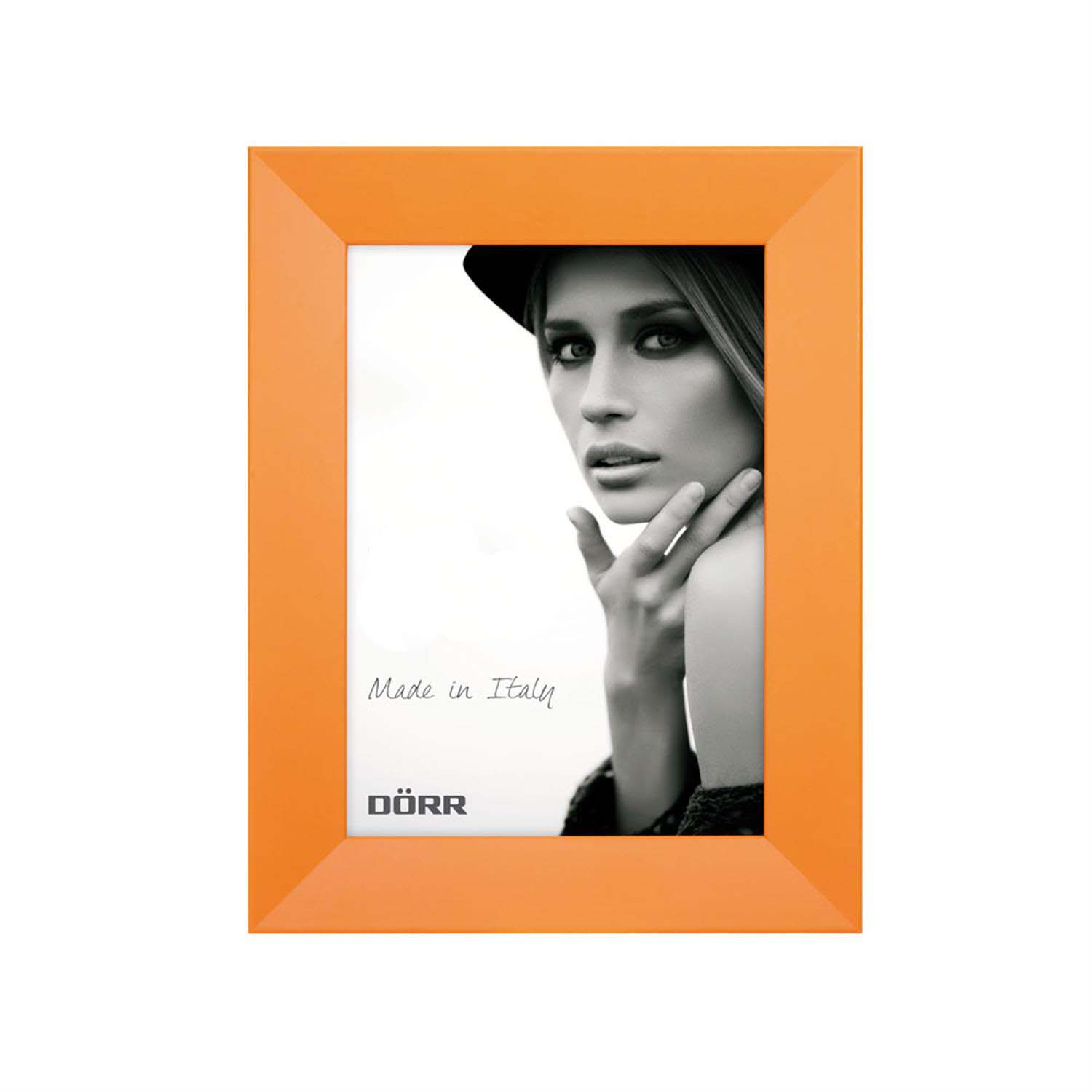 Dorr Trend Orange 6x4 inches Wood Photo Frame