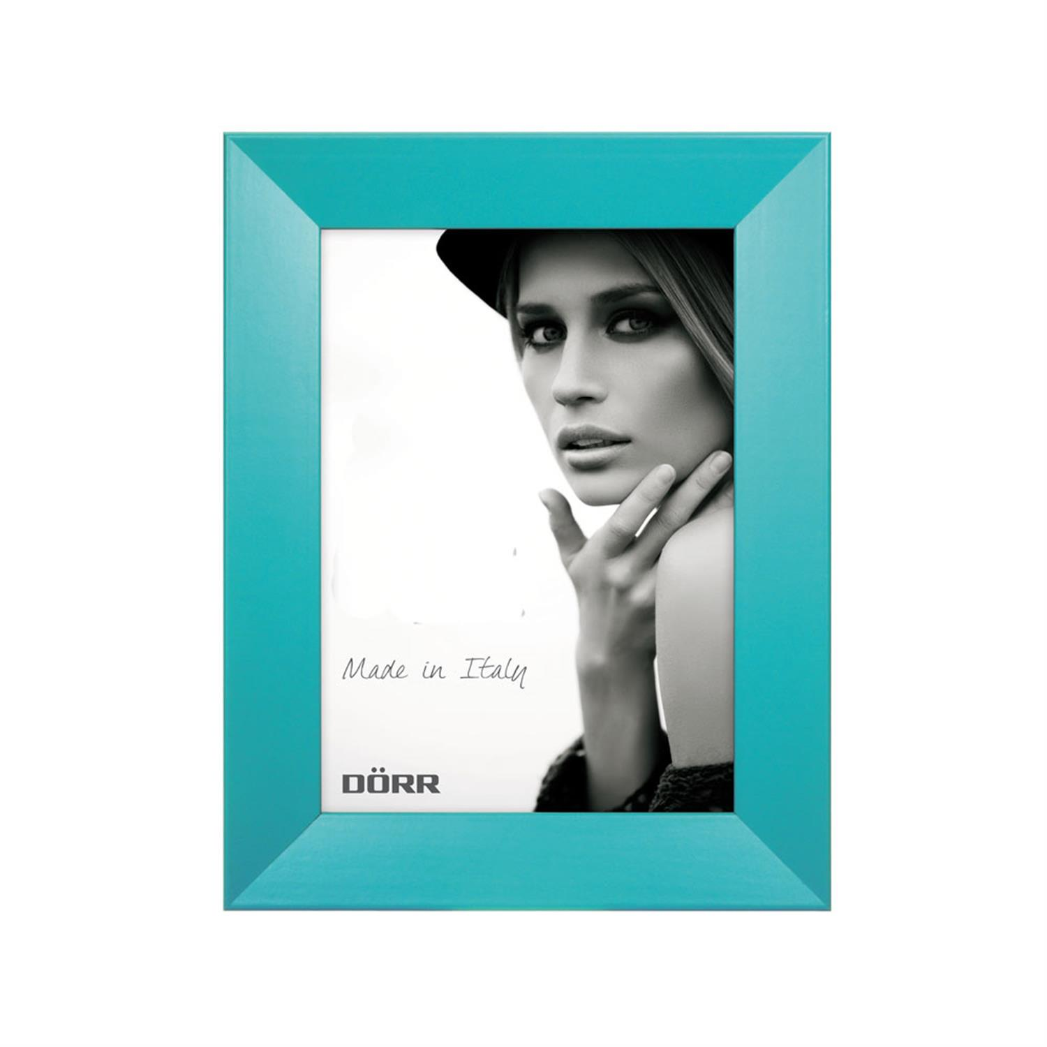 Dorr Trend Turquoise 7x5 inches Wood Photo Frame