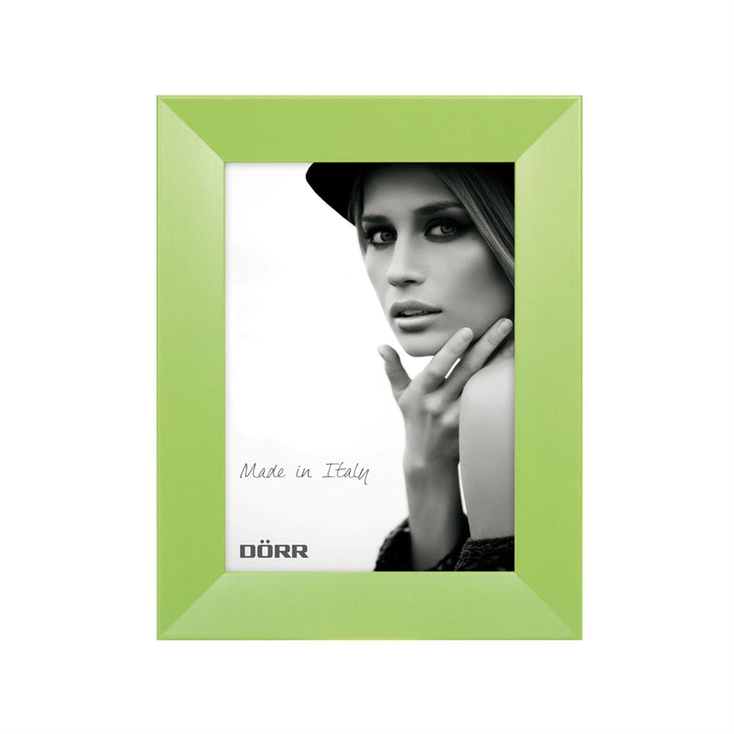 Dorr Trend Green 7x5 inches Wood Photo Frame