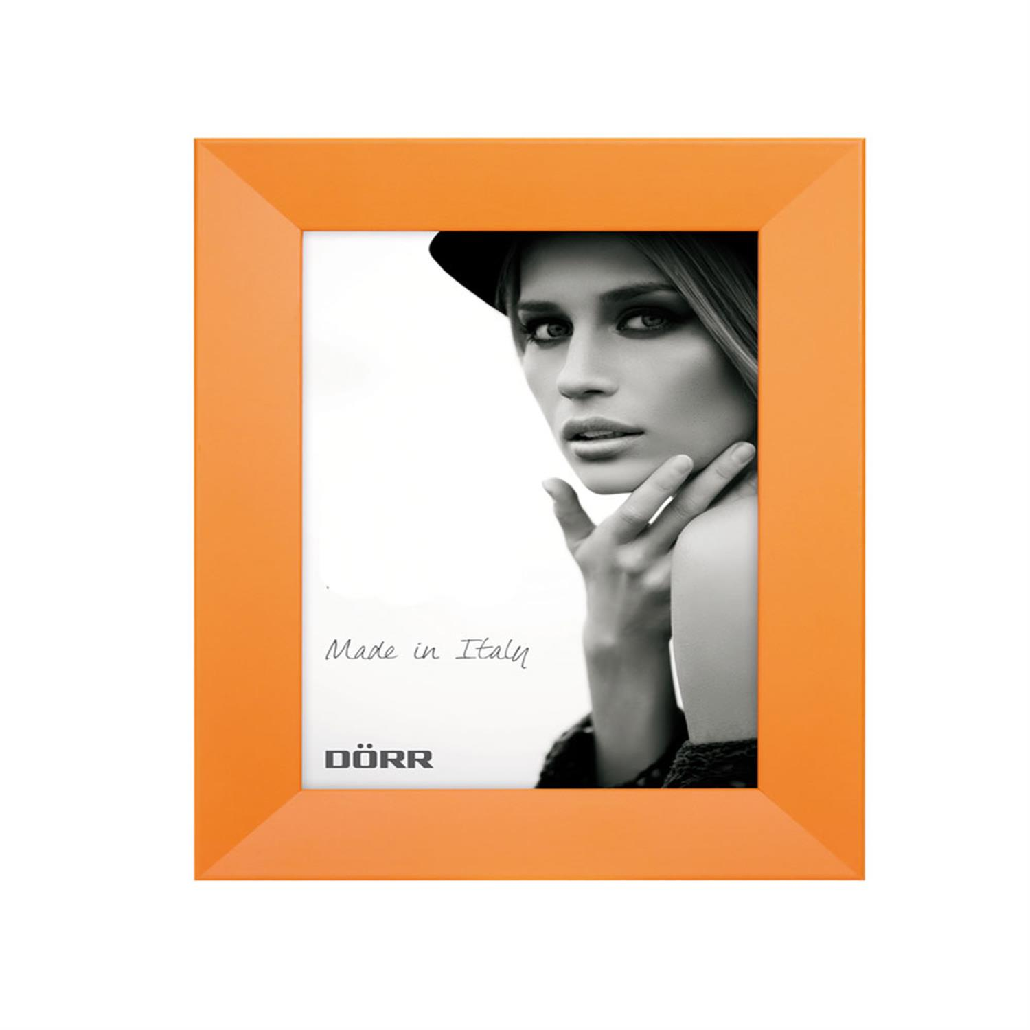 Dorr Trend Orange 12x8 Wood Photo Frame