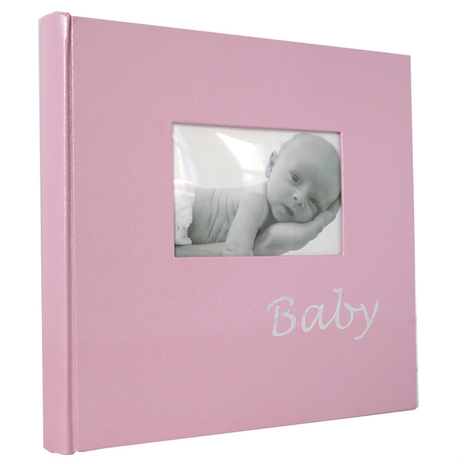 Dorr Baby Pink Traditional Photo Album - 60 Sides