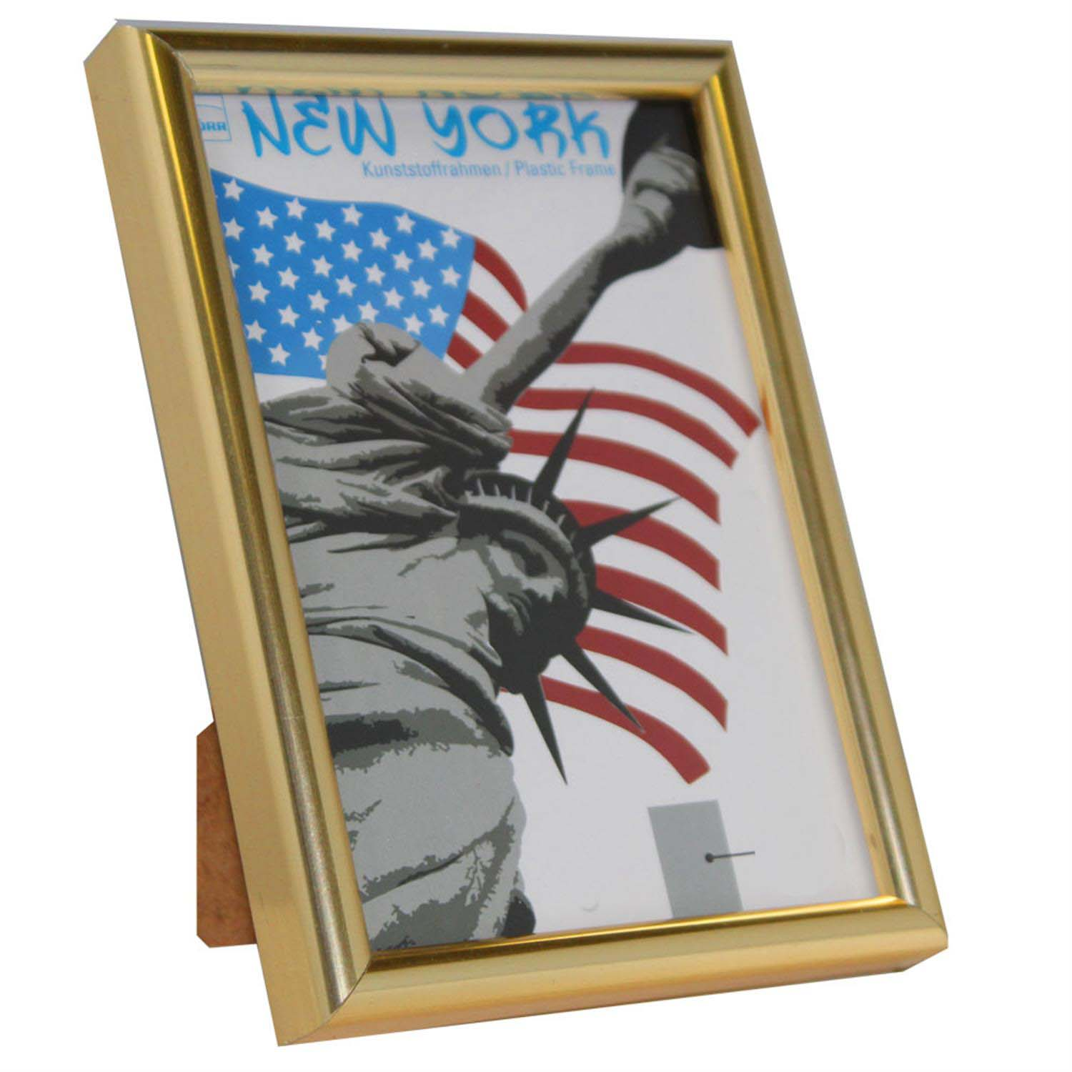 Dorr New York Gold 5x3.5 Photo Frame