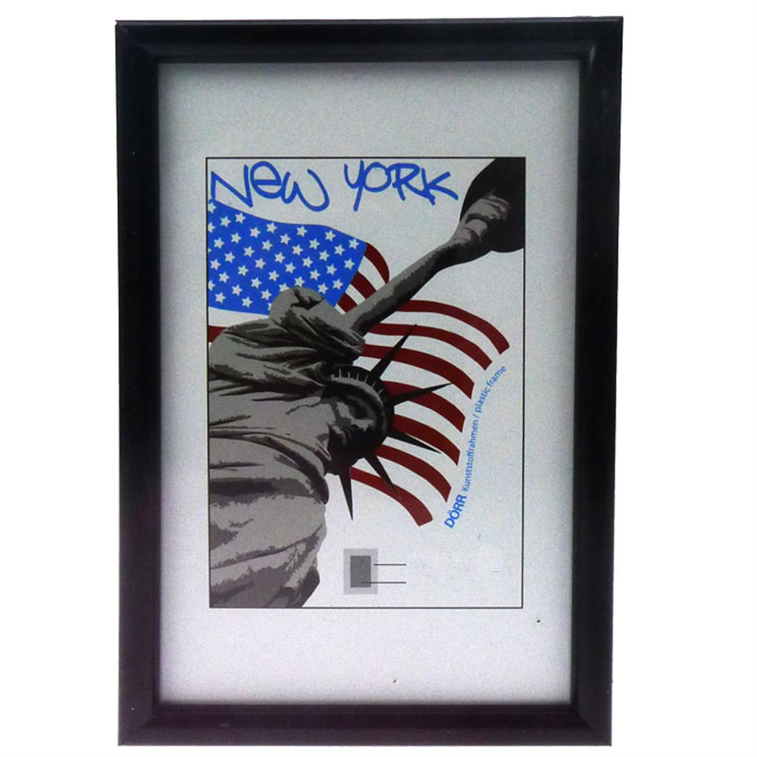 Dorr New York Black 6x4 Photo Frame