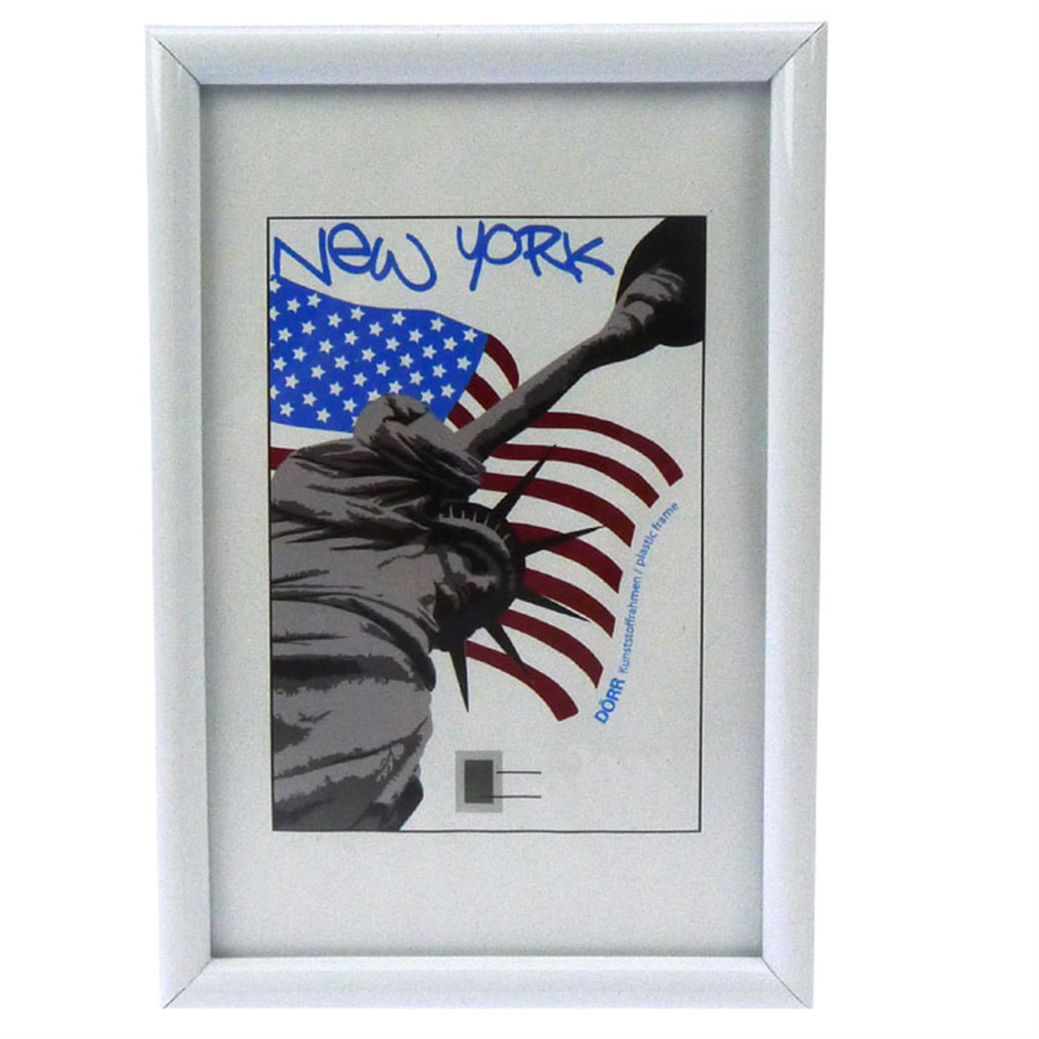 Dorr New York White 12x8 Photo Frame