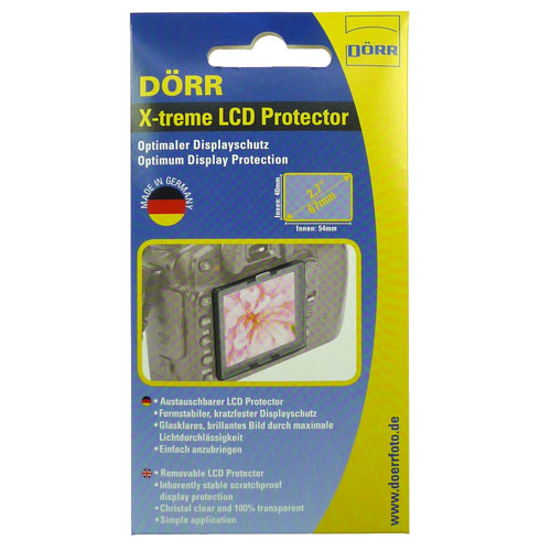 Dorr X-Treme Protector For 2.7-Inch LCD Screens