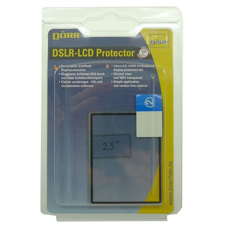 Dorr LCD Protector for 2.5-Inch Display