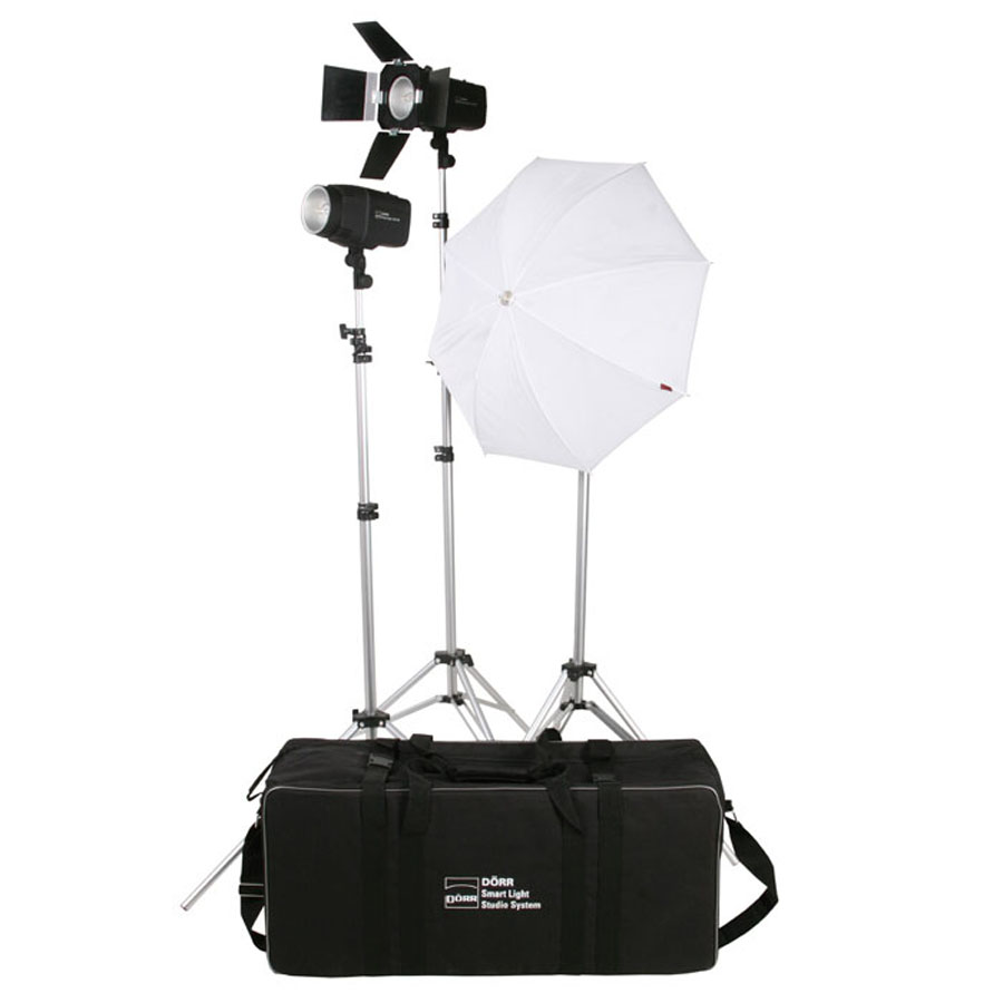 Dorr Smart Light Flash LCD Studio Kit