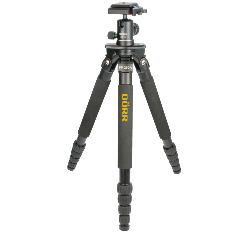 Dorr Planapod PP-250A Aluminium Tripod With HB-24 Ball Head
