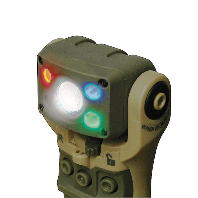 Energizer Hard Case Tactical Bravo Swivel Head Light - Tan