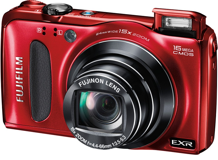 Fujifilm FinePix F660EXR Digital Camera Red