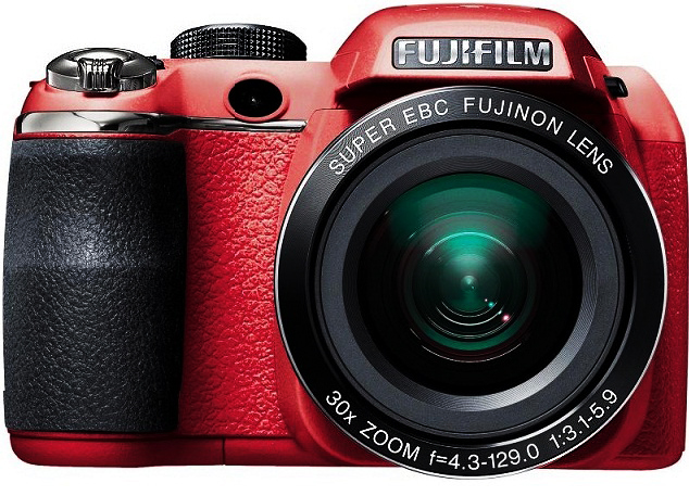 Fujifilm FinePix S4500 Digital Camera Red