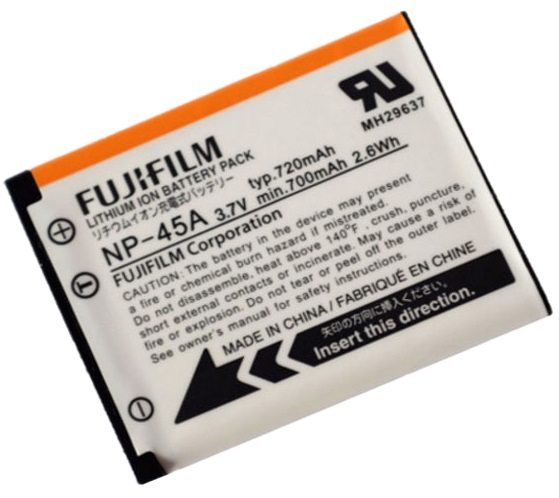 Fujifilm NP-45A Li-Ion Rechargeable Battery