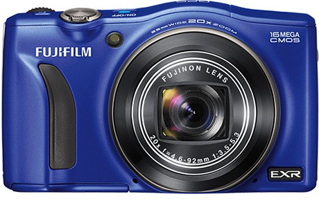 Fujifilm FinePix F770 EXR 16MP Digital Camera Blue