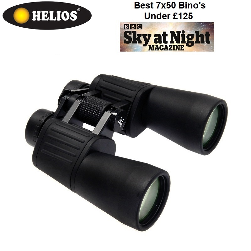 Helios Naturesport-plus 7x50 High Resolution Porro Prism Binoculars