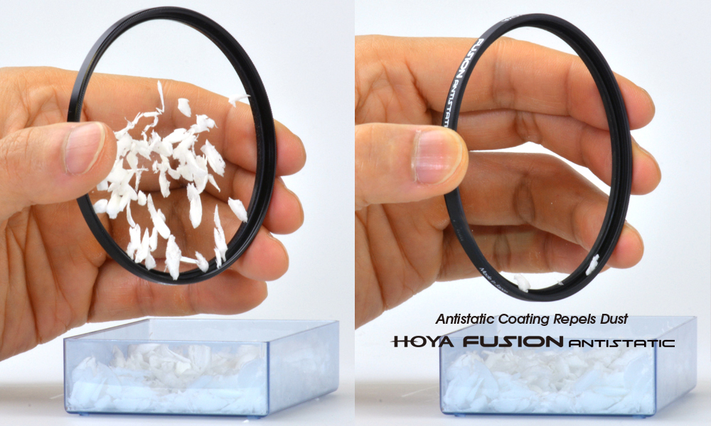 Hoya 43 mm Fusion Antistatic Circular Polarizing Filters