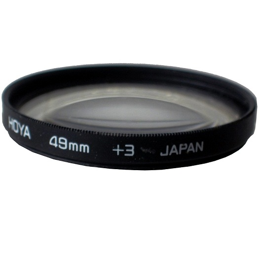 Hoya 49mm High Quality Close-Up +3 Diopters Filter