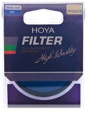 Hoya 49mm Gradual Color Blue Filter