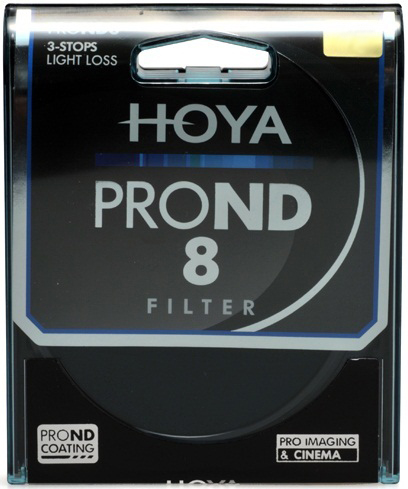 Hoya 58mm ND8 ProND Neutral Density Filter