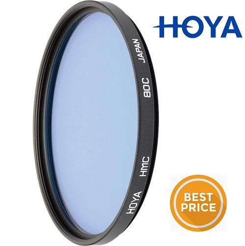 Hoya 67mm Standard 80C Blue Filter