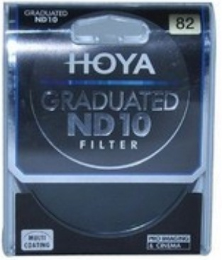 Hoya 82mm Graduated ND10 Neutral Density Filter