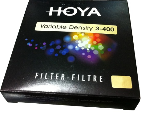 Hoya 82mm Variable Density x3-400x Filter