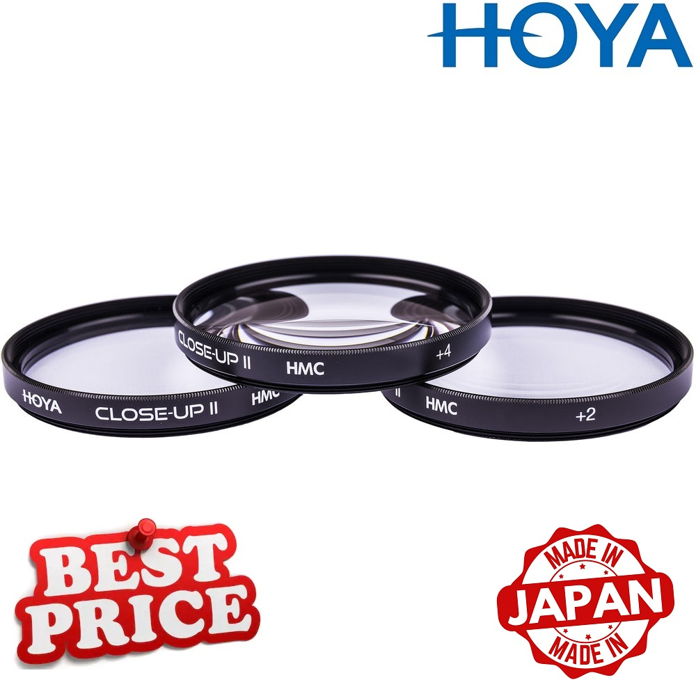 Hoya 62mm Close-Up Kit (+1,+2,+4) HMC (Multi-Coated)
