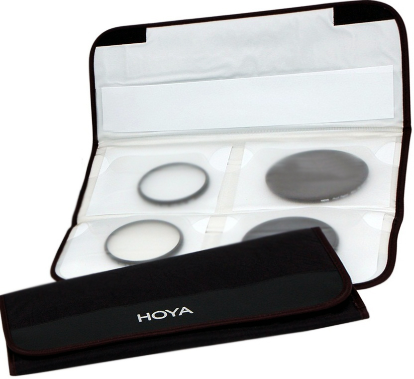 Hoya Large Folding 4  Filters Pouch