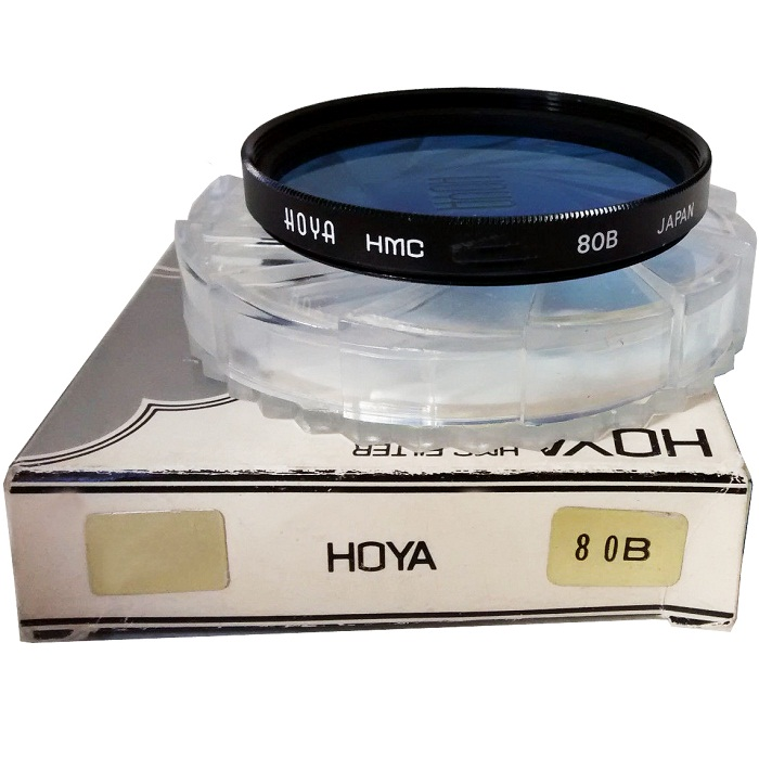 Hoya 58mm Standard 80B Blue Filter