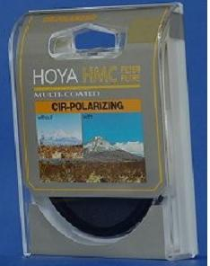 Hoya 62mm HMC Circular_Polarizer / Multi-Coated -(Glass Filter)