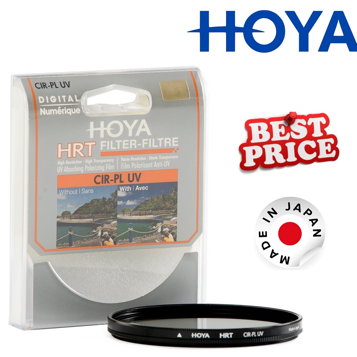 Hoya HRT 67mm Circular Polarizing + UV Filter