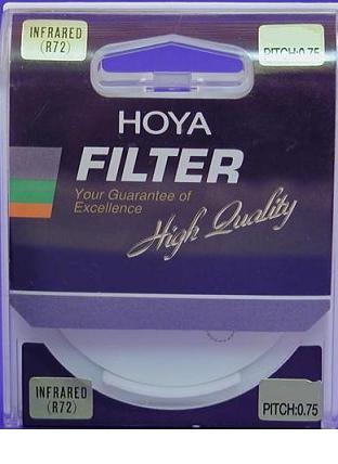 Hoya 49mm Infrared R72 Filter