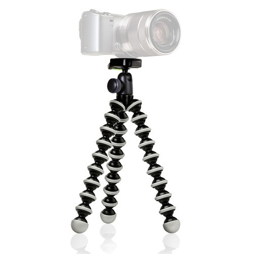 Joby GorillaPod GP2B Hybrid Flexible Mini-Tripod With Ball Head Gray/