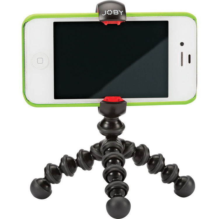 Joby MPod Mini Stand For Smartphones Black/Red