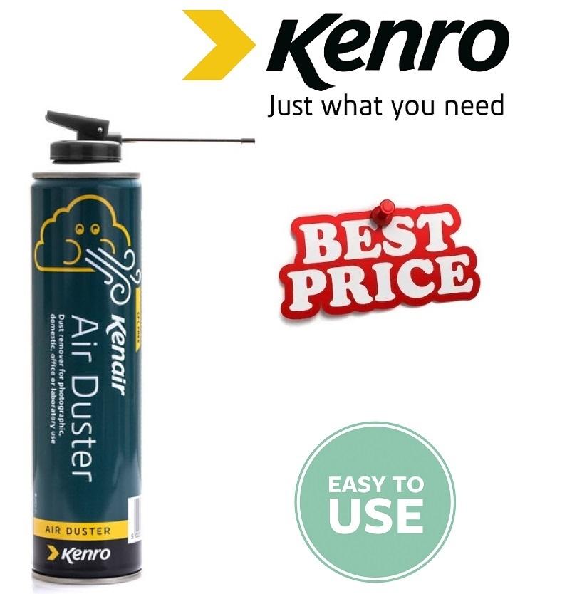 kenro kenair clean air duster replacement cartridge london uk. Black Bedroom Furniture Sets. Home Design Ideas
