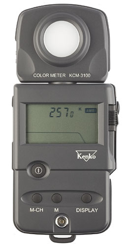 Kenko KCM-3100 Pro Digital Color Temperature Meter with 9 Memory