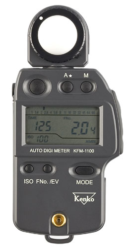 Kenko KFM-1100 Professional Light Meter with Diffuser
