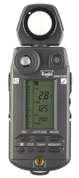 KENKO KFM-2100 Professional Light Meter with Spot Meter