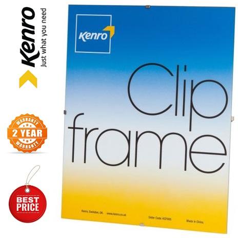 Kenro 11.75x16.5 Inch A3 Plexiglas Fronted Clip Frames | London | UK |