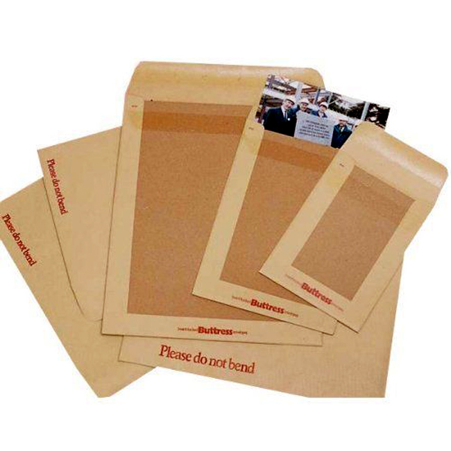 Kenro 18x12.75 Inch Boardback Envelopes - Pack of 50