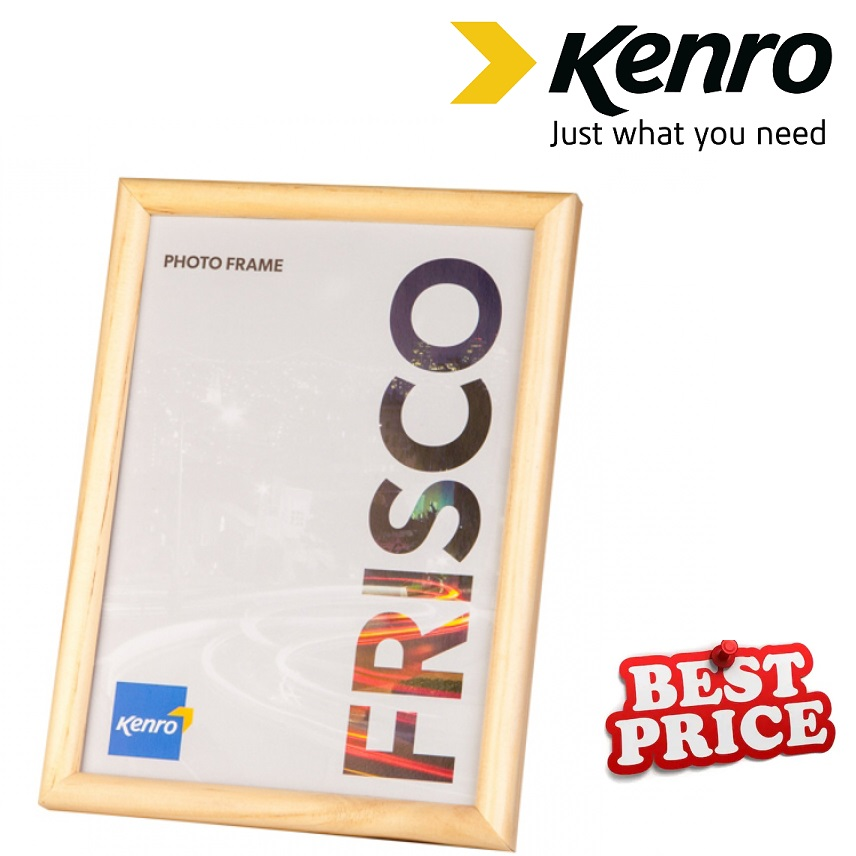 Kenro 8x10 Inch Frisco Wood Natural Frame