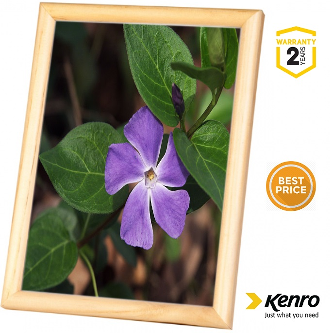 Kenro 8x6 Inch Frisco Wood Natural Frame