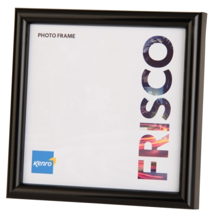 Kenro 8x8 Inch Frisco Square Photo Frame Black