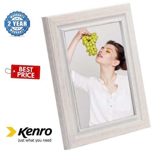 Kenro Emilia Distressed 8x10-Inch White Frame