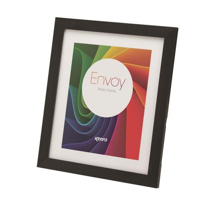 Kenro Envoy Black Frame 8x10-Inch With Mat 6x8-Inch