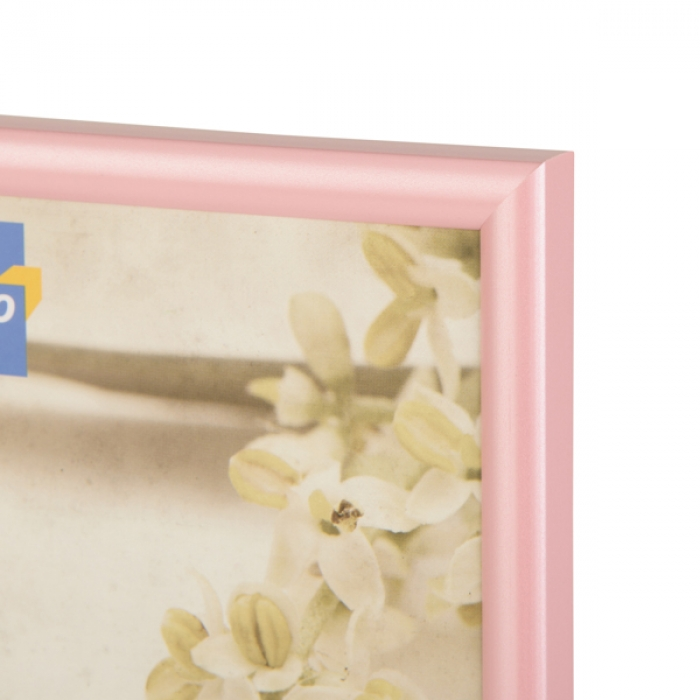 Kenro 8x6-Inch Fusion Modern Pearlised Photo Frame - Pink