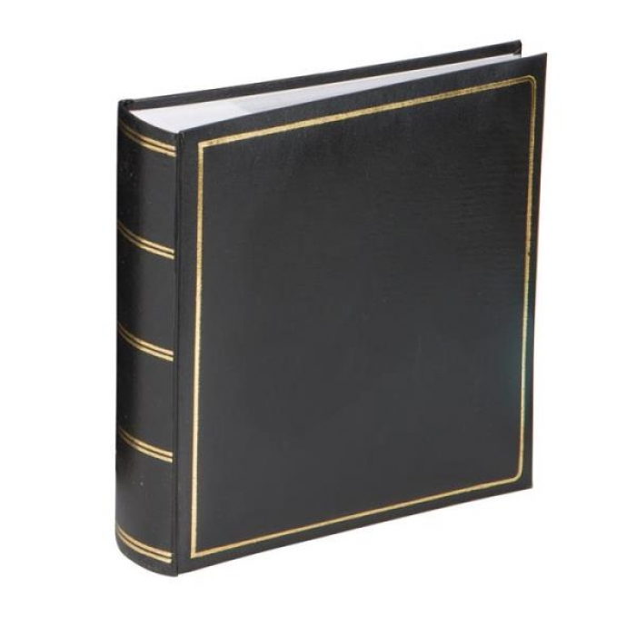Kenro Grafton Black 7x5-Inch Memo Album 200